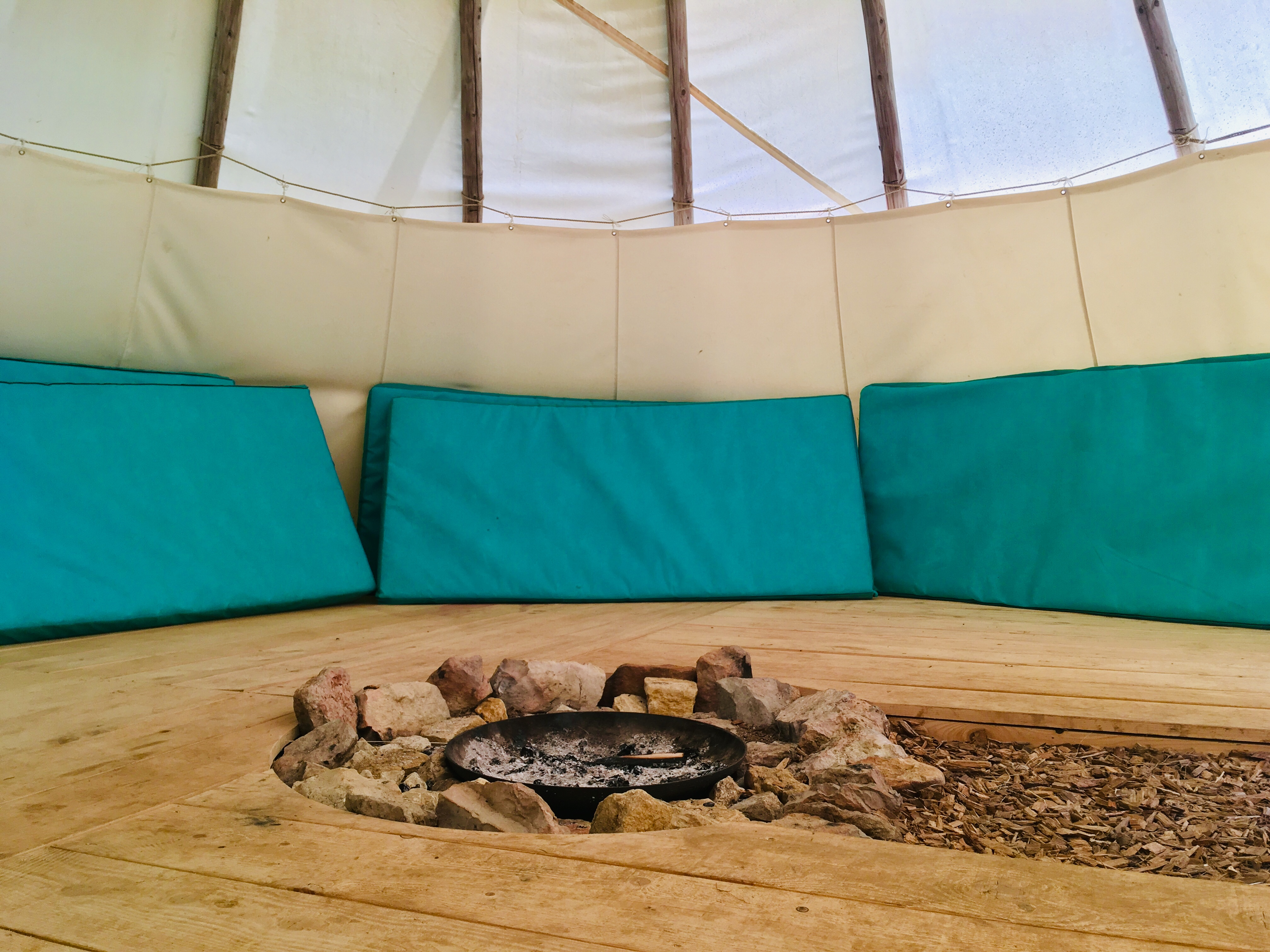 Le Grand Tipi Bison (max. 7 places)