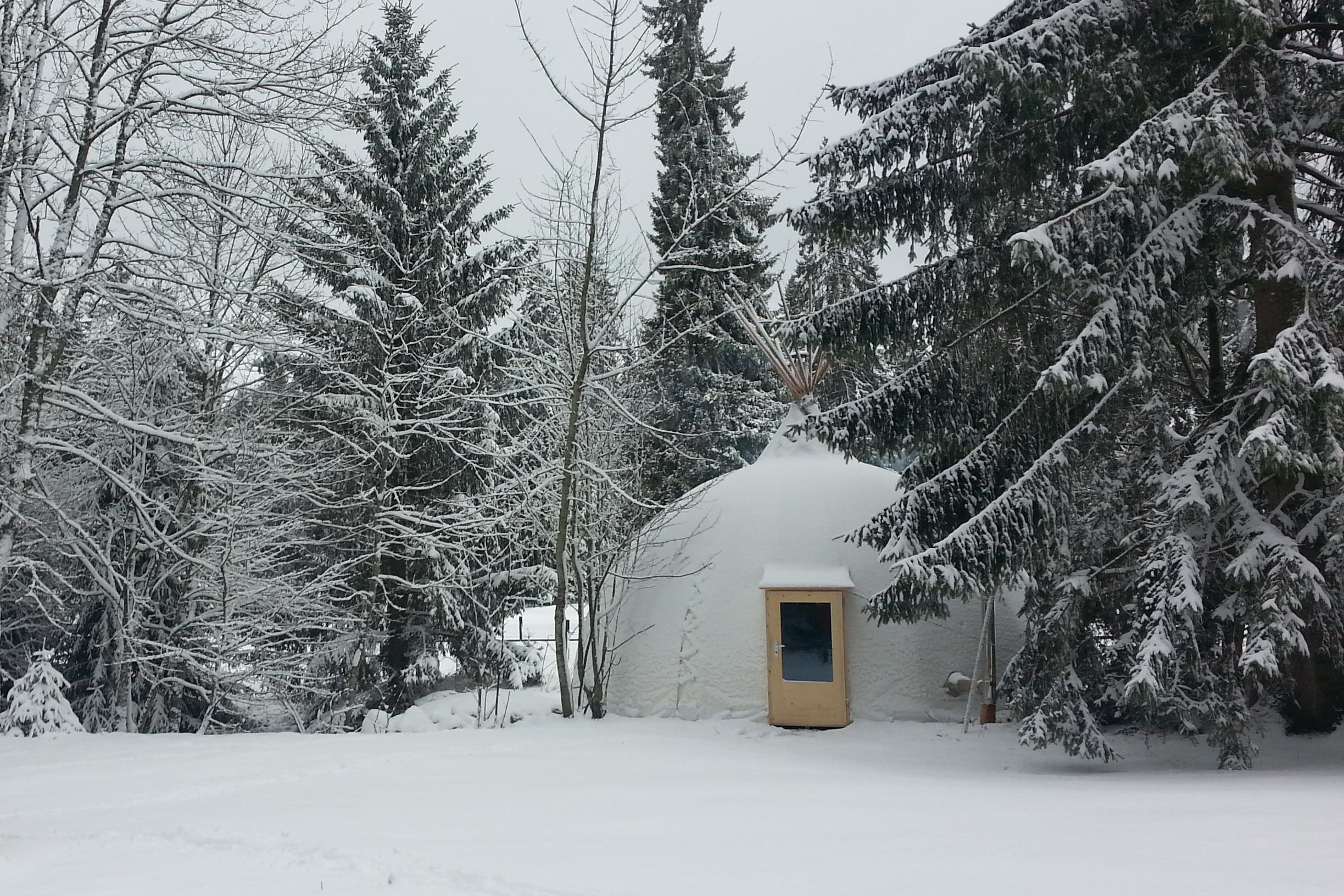 Le Totem en hiver